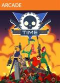 Super Time Force Xbox 360 Front Cover