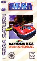 Daytona USA: Championship Circuit Edition SEGA Saturn Front Cover