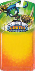 Skylanders Giants: Stealth Elf (Series 2) Nintendo 3DS Front Cover