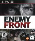 Enemy Front PlayStation 3 Front Cover