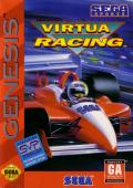 Virtua Racing Genesis Front Cover