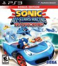 Sonic & All-Stars Racing: Transformed (Bonus Edition) PlayStation 3 Front Cover