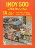 Indy 500 Atari 2600 Front Cover
