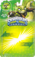 Skylanders: Swap Force - Stink Bomb Nintendo 3DS Front Cover