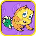 Freddi Fish and Luther's Maze Madness iPad Front Cover