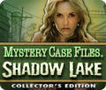 Mystery Case Files: Shadow Lake (Collector's Edition) Macintosh Front Cover