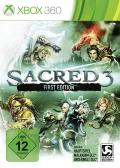 Sacred 3: First Edition Xbox 360 Front Cover