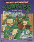 Electric Crayon Deluxe: Teenage Mutant Ninja Turtles: World Tour Commodore 64 Front Cover