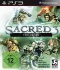 Sacred 3: First Edition PlayStation 3 Front Cover
