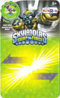 Skylanders: Swap Force - Legendary Night Shift Nintendo 3DS Front Cover