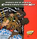 Boulder Dash: Construction Kit Commodore 64 Front Cover