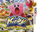 Kirby: Triple Deluxe Nintendo 3DS Front Cover
