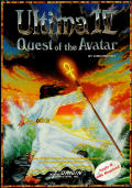 Ultima IV: Quest of the Avatar Apple II Front Cover