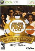 World Series of Poker: Tournament of Champions Xbox 360 Front Cover