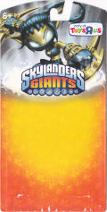 Skylanders Giants: Legendary Stealth Elf Nintendo 3DS Front Cover