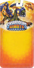 Skylanders Giants: Drobot (Series 2) Nintendo 3DS Front Cover