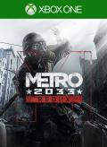 Metro 2033: Redux Xbox One Front Cover 1st version