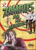 Zombies Ate My Neighbors Genesis Front Cover