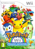 PokéPark Wii: Pikachu's Adventure Wii Front Cover