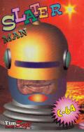 Slater Man Commodore 64 Front Cover