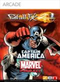 Pinball FX2: Captain America Xbox 360 Front Cover