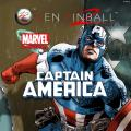 Pinball FX2: Captain America PlayStation 4 Front Cover