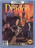 Rise of the Dragon SEGA CD Front Cover