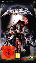 Undead Knights PSP Front Cover