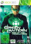 Green Lantern: Rise of the Manhunters Xbox 360 Front Cover