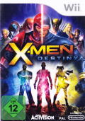 X-Men: Destiny Wii Front Cover