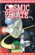 Cosmic Pirate Commodore 64 Front Cover