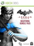 Batman: Arkham City - Nightwing Bundle Pack Xbox 360 Front Cover