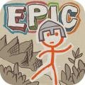 Draw a Stickman: EPIC Macintosh Front Cover