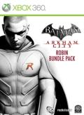 Batman: Arkham City - Robin Bundle Pack Xbox 360 Front Cover