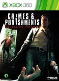 Crimes & Punishments: Sherlock Holmes Xbox 360 Front Cover