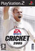 Cricket 2005 PlayStation 2 Front Cover