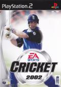 Cricket 2002 PlayStation 2 Front Cover