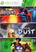 Triple Pack: Outland / From Dust / Beyond Good & Evil HD Xbox 360 Front Cover
