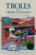 Trolls and Tribulations Atari 8-bit Front Cover