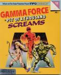 Gamma Force in Pit of a Thousand Screams Commodore 64 Front Cover
