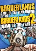 Borderlands: Game of the Year Edition / Borderlands 2: Game of the Year Edition Windows Front Cover