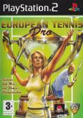 European Tennis Pro PlayStation 2 Front Cover