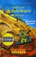 Tales of the Arabian Nights Amstrad CPC Front Cover