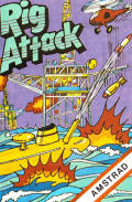 Rig Attack Amstrad CPC Front Cover