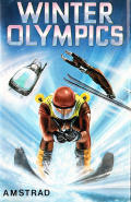 Winter Olympics Amstrad CPC Front Cover