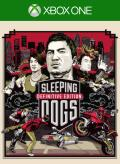 Sleeping Dogs: Definitive Edition Xbox One Front Cover 1st version