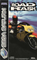Road Rash SEGA Saturn Front Cover