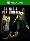 Crimes & Punishments: Sherlock Holmes Xbox One Front Cover 1st version