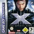 X-Men: The Official Game Game Boy Advance Front Cover