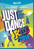 Just Dance: Kids 2014 Wii U Front Cover